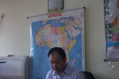 Mr. Wu Tao Managing Director of Chinese company Lagos